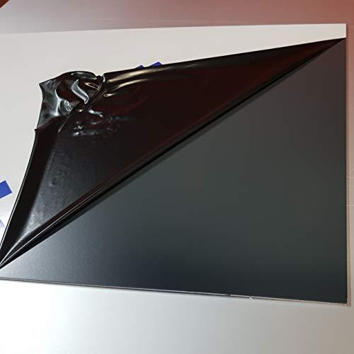 Platte Aluminium Grau Anthrazit–EPH 1.5mm–8Größen–Höhe 75cm x