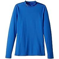 Under Armour Chicos 'CG Mock Manga Larga Camiseta, Niños, Color Ultra Blue, tamaño X-Large