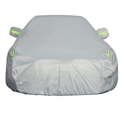 Kompatibel mit neuen und alten Modellen Ford Fiesta Autoabdeckung wasserdicht feuerfest staubdicht Sonnencreme Frostschutz Diebstahlschutz Isolierung Oxford Tuch Autoabdeckung spezielle Autoabdeckung