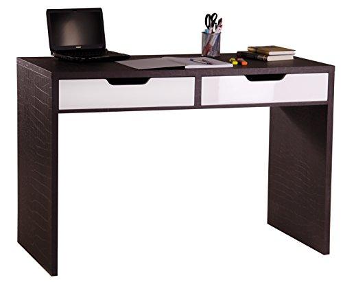 Phoenix 806302 kr verona scrivania con 2 cassetti effetto pelle di