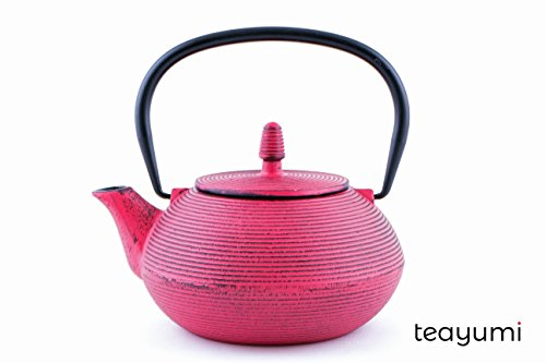 teayumi - Gusseisen Teekanne Ryo 0,9 Liter pink