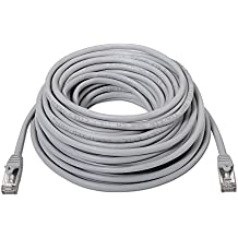 NanoCable 10.20.0820 - Cable de red Ethernet RJ45 Cat.6 FTP AWG24, 100% cobre, Gris, latiguillo de 20mts