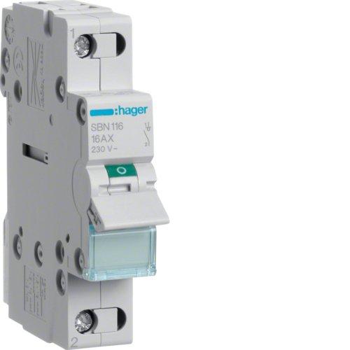 Hager SBN116Short Circuit-kurz Schaltungen (20-50°C,-40-80°C)