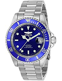 Invicta 9094OB Pro Diver Unisex Wrist Watch Stainless Steel Automatic Blue Dial