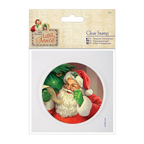Docrafts 4 x 4 cm-Clear-Stamps Letter to Santa (Craft-projekte Santa)