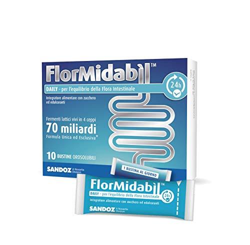 Flormidabil daily - fermenti lattici probiotici in 10 bustine orosolubili, 1.5 g