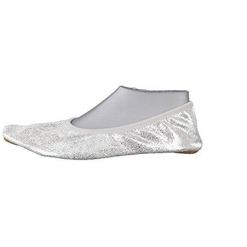 Beck, Scarpe indoor multisport bambine - argento