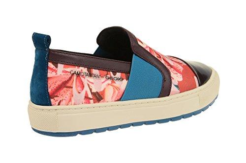 Rot Designed Geox BREEDA SEOK Damenschuhe YOUNG BAE CAMOTARTAN sportliche Halbschuhe Slipper by nPwYIrPqf