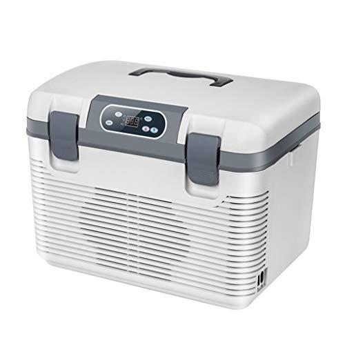 MNBX 19L 12V DC 220V AC Dual-Core-Kühlung Kühlschrank Kühlschrank Mini-Kühlschrank Kleinstkühlschrank für Privathaushalte Dual-Use-Kühlschrank für Autos