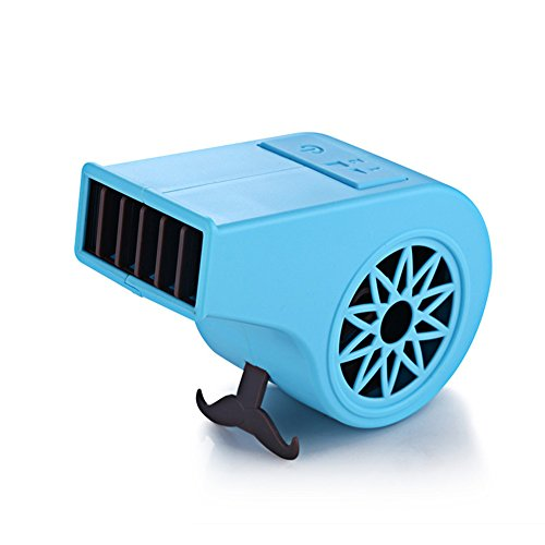 Unbekannt Tragbare Hand No Leaf USB Wiederaufladbare Mini Whistle Form Fan Blattlosen Fan Luftkühler Outdoor Fans,Blue (Elektro-kamin Blue)