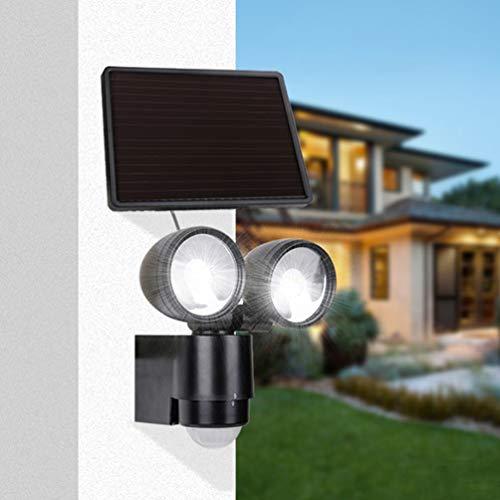Solares lámpara de alta intensidad lámparas solares exteriores 6w radiador solar 3.7V 2200 mAh de Dual14.7 * 16, 2 * 6 * 0.5W luces de emergencia LED para valla, vertiente, un granero