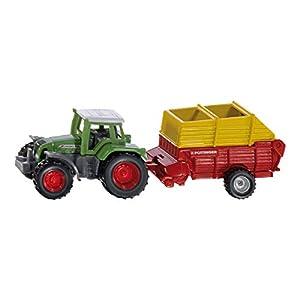 SIKU 1676 Metal, De plástico vehículo de Juguete - Vehículos de Juguete (Negro, Verde, Rojo, Amarillo, Tractor, Metal, De plástico, 1 Pieza(s))