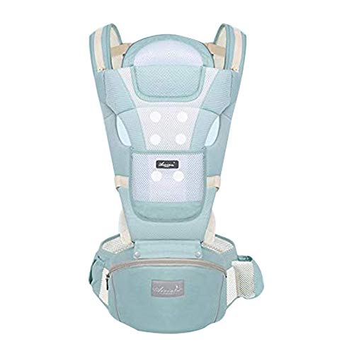Chytaii. Baby Carrier Back Carriers with Hip Seat Multi-Function can Accommodate Four Seasons Universal Front and Back Carrier 0-36 Months