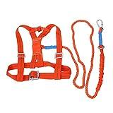 perfk 1 Stück Sicherheit Gurt Absturzsicherung stark, haltbar Safety Harness Auffanggurt Einstellbar für die meisten Menschen