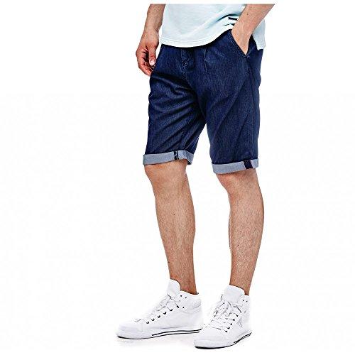 Guess Herren Shorts M72d27d2hb0 Blau