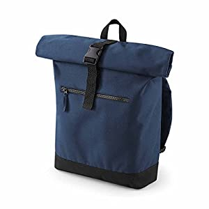 Bag-Base – Mochila con Roll-Top Compartimento Ordenador portátil – BG855