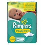Pampers Change Mats, teli per il cambio dei bambini, 2 confezioni da 12 (versione inglese)