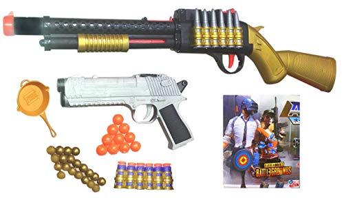 PUBG S1897 Sniper Gun Toy - with 4 in 1 Bullets - PUBG Battleground Shotgun Toy (56 cm)…