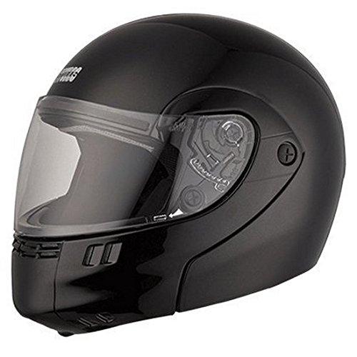 Studds Full Face Helmet Ninja 3G (Eco Matt Black, XL)