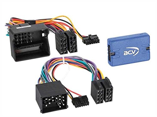 Interface commandes au volant BMW 3/5/X5/X3/Z4/Mini ISO/40PIN > Pioneer