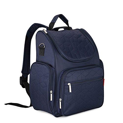 Tofern Wickelrucksack Wickelschultertaschen Wickelumhängetaschen Wickeltasche für Mama Schwangere große Kapazität, Blau