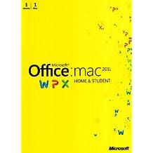 Microsoft Office for Mac Home and Student 2011, Pacchetto italiano, 1 installazione