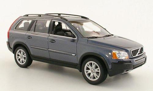 Volvo XC 90, anthrazit, 2003, Modellauto, Fertigmodell, Welly 1:18