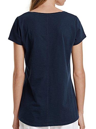 Marc O'Polo Damen Shirt kurzarm 157688 Nachtblau