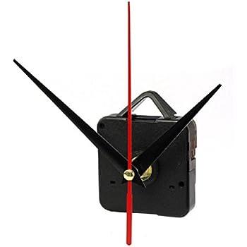 FACILLA Quartz Clock Movement Mechanism DIY Repair Parts Black