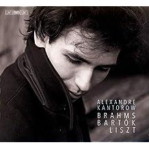 Brahms-Bartòk-Liszt