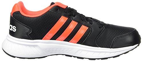 adidas VS Star, Chaussures de Sport Homme Noir (core Black/solar Red/ftwr White)
