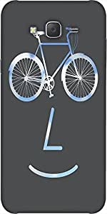 Snoogg Public Bike Poster 2923 Designer Protective Back Case Cover For Samsun...