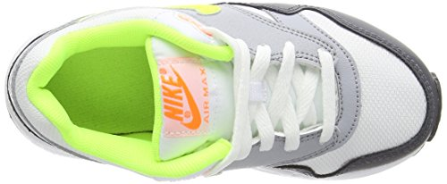Nike - Air Max 1 (Ps), Sneakers per bambini e ragazzi Bianco (White (White/Volt/Ttl Orange/Drk Gry))
