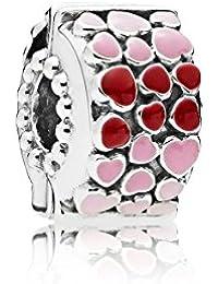 Pandora Women Silver Bead Charm - 796594enmx