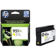 HP 951XL - Cartucho de Tinta para impresoras (Amarillo, 1500 páginas, 41-95 °F, 10-90%, -40-60 °C, 5-35 °C) (Reacondicionado)