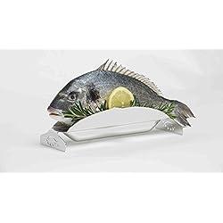 5-Sterne-Fisch.com, 1 Fischgrillhalter aus Edelstahl, 100% Germany, OVP!