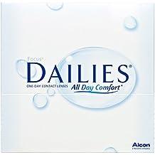 Focus Dailies All Day Comfort Tageslinsen weich, 90 Stück / BC 8.6 mm / DIA 13.8 / -5,00 Dioptrien