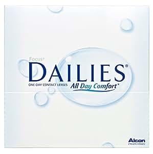 Focus Dailies All Day Comfort Tageslinsen weich, 90 Stück / BC 8.6 mm / DIA 13.8 mm / -4,50 Dioptrien