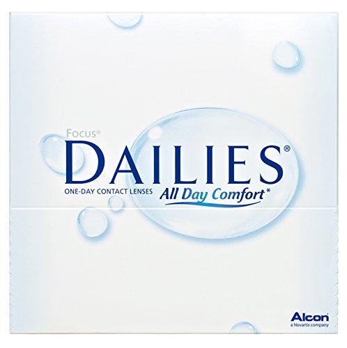 Focus Dailies All Day Comfort Tageslinsen weich, 90 Stück / BC 8.6 mm / DIA 13.8 / -3,25 Dioptrien