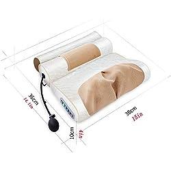 Sipaluo Oreiller de Mousse de mémoire de Contour, oreillers orthopédiques de Sommeil pour Le soulagement de Douleur et l'appui de Cou