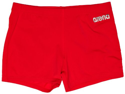 Arena Men's Short Bynars (27 cm) - Rouge/gris métallique