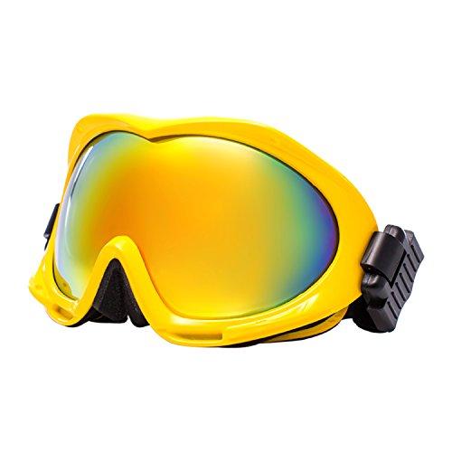 Jimmy orange Herren Damen Polarized Lens Fashion snow-skiing Brillen Anti-Fog Skibrille johxj, Herren, (Maske Rote Birds Angry)