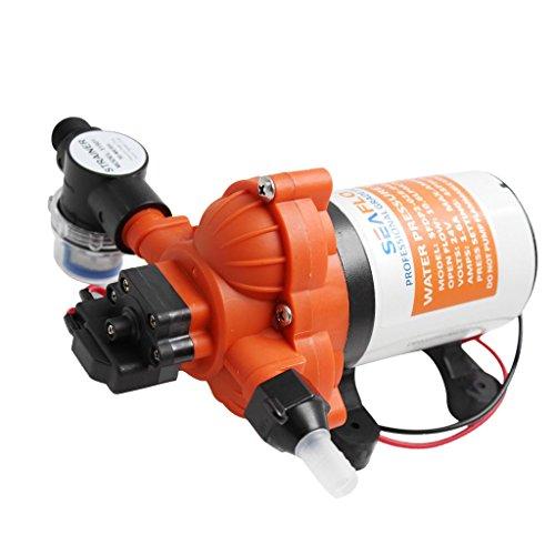 """B Baosity 1/2\""""Gewinde Wasserpumpe Selbstansaugende Pumpe Hochdruckpumpe Membranpumpe für Rv Marine"""