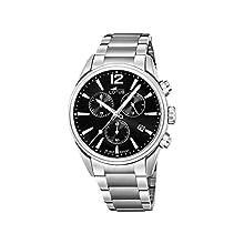 Lotus Herren Chronograph Quarz Uhr mit Edelstahl Armband 18690/3