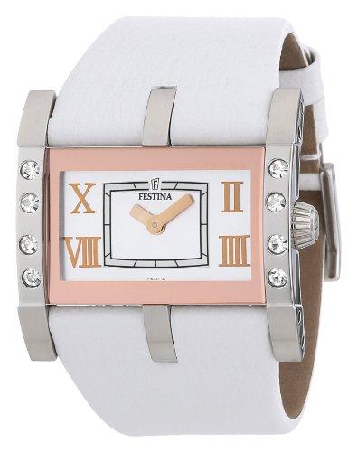 Festina Women's Quartz Watch Trend Lady F16361/4 with Leather Strap