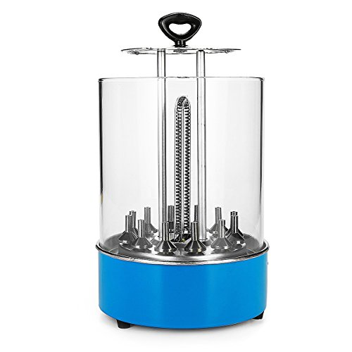 Unbekannt Elektrische BBQ Griller Barbecue Grill Smokeless Werkzeug Vertikale Automatische Rotierende Thermische Zirkulation Haushalt Werkzeug Stecker: AU Stecker (Thermische Bürste)