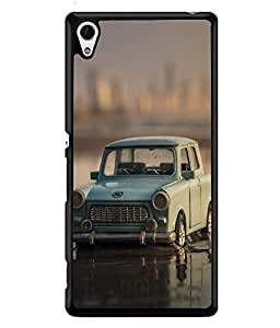 FUSON Designer Back Case Cover for Sony Xperia Z4::Sony Xperia Z3+ :: Sony Xperia Z3 Plus :: Sony Xperia Z3+ dual :: Sony Xperia Z3 Plus E6533 E6553 :: (Black Car Highway Luxury Lamborghini)
