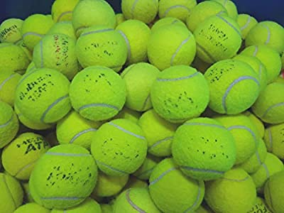 30 Used Tennis Balls For Dogs - Used Balls From The Major Manufacturers like Slazenger, Dunlop, Wilson Head, Etc from Variable Manufacturers