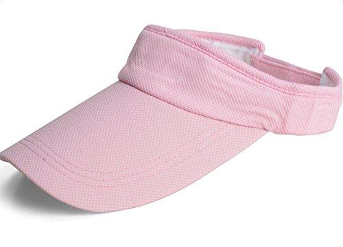 Westeng Visera de protección contra el sol para mujer, para la playa, deportes, viajes, rosa (b)