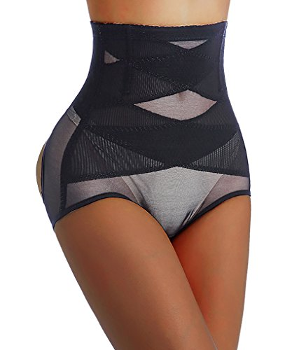 Damen Hintern Lifter Body Shaper Miederslip Miederpants Boyshorts Unterwäsche (S(2-3 Days Delivery), Black(2-3 Days Delivery)) Curve-control-jeans